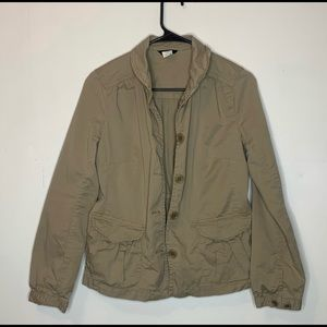 *On Trend* Tan J Crew Jacket! Practically in new!